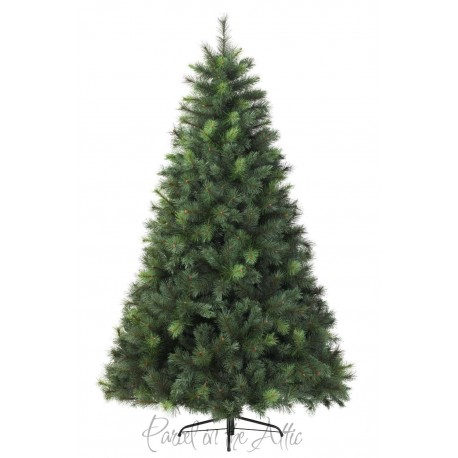 210cm/7ft Mixed Green Pine Artificial Christmas Tree