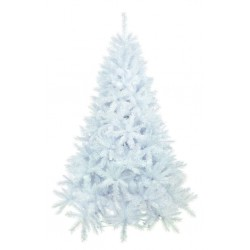 210cm/7ft White Spruce Artificial Christmas Tree with iridescent tips
