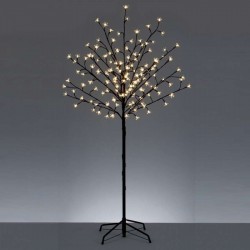 150cm/5ft Deluxe Cherry Tree - Warm White LED Fairy Lights