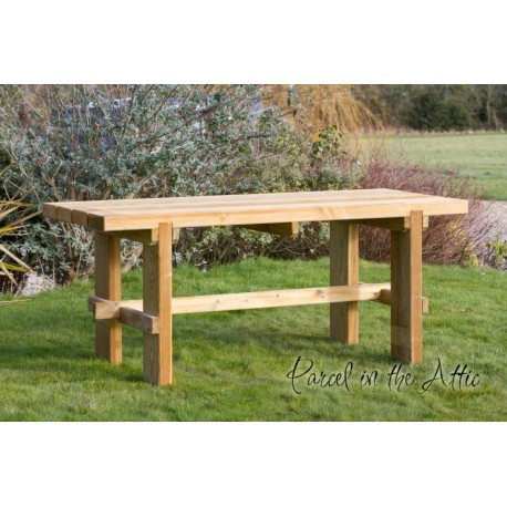 Elche Solidwood Garden Table