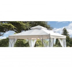 Contemporary Garden Gazebo Replacemen Canopy (2.5x2.5m)