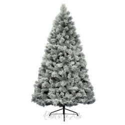 240cm/8ft Exclusive Snowy Mixed Pine Artificial Christmas Tree