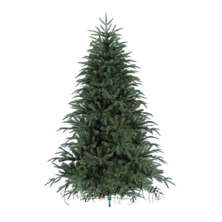 210cm/7ft Newfoundland Victorian Pine Artificial Christmas Hook on Tree