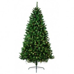 210cm/7ft Pre-Lit Nordic Fir Artificial Christmas Tree